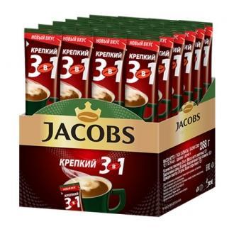 Якобс Монарх  кофе  3в1  13,5г*24*(10бл) Крепкий