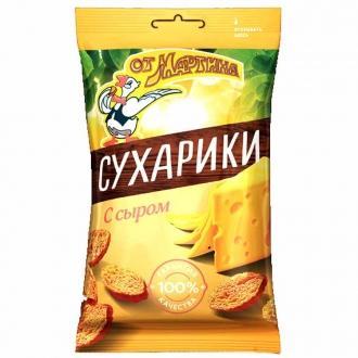 Сухарики  'От Мартина ' 60г*24 Сыр