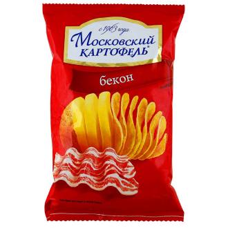Московский Картофель 70г*12 Бекон