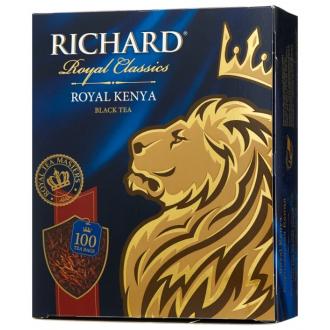 Ричард чай 100пак.*6 Королевская  Кения