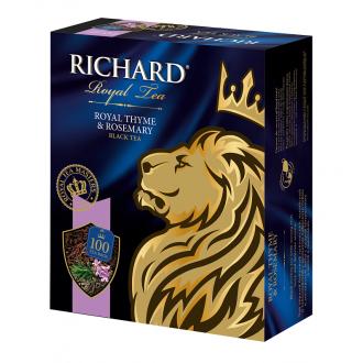 Ричард чай 100пак.*6 Королевский Чабрец ...