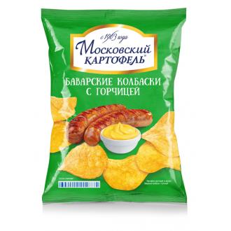 Московский Картофель 70г*12 Колбаска/гор...
