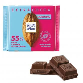 Риттер спорт 100г*12 Молочный 55% какао