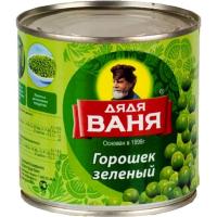Горошек зеленый Дядя Ваня 400 гр*12