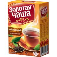 Золотая чаша чай 100г*24  средний лист