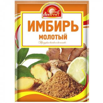 Имбирь молотый  'Русский Аппетит ' 10гр*25