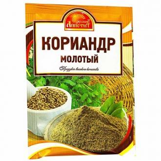 Кориандр молотый  'Русский Аппетит '15гр*25