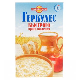 """Геркулес """"Русский Продукт"""" быстрого приготовления 420гр*6 Овсяные хлопья"""