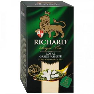 Ричард чай 25пак.*12 Royal Green Jasmine