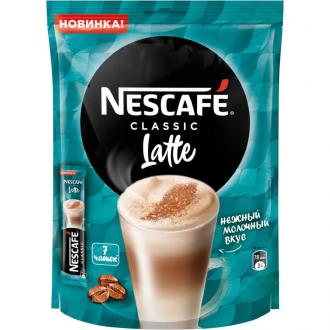 Нескафе 3в1 'Латте ' 18г*20 х20 кофе со ...