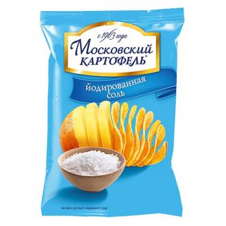 Московский Картофель 70г*12 Соль