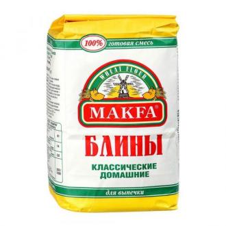 """Мука п/ф""""Макфа""""для блинов и оладий 1кг*4"""