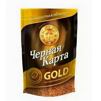 Черная карта Gold м/у кофе 240г*12 ПАКЕТ