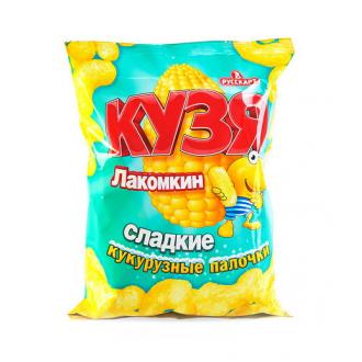 Кузя  Лакомкин 38г*30- палочки сладкие кукурузные