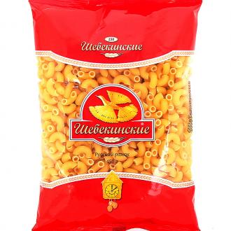 Шебекинские макаронные изделия 450г*28 Русский рожок
