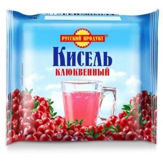 Кисель в брикетах Русский Продукт  220гр*14 Клюква