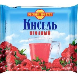 Кисель в брикетах Русский Продукт  220гр*14 Ягодный