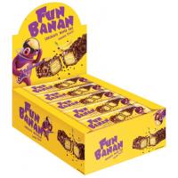 Батончики FUN Banana вафли 35г*15шт*(4бл)