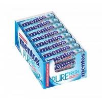 Ментос Pure Fresh жев/резинка 15,5гр*24*(12бл) Нежная мята