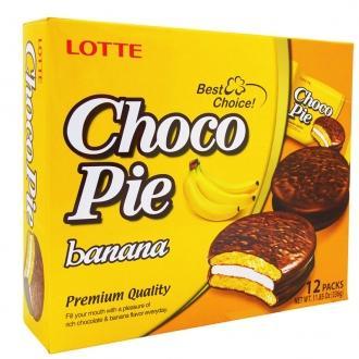 Чоко Пай ЛОТТЕ 336гр. Т12*(8бл) Банан