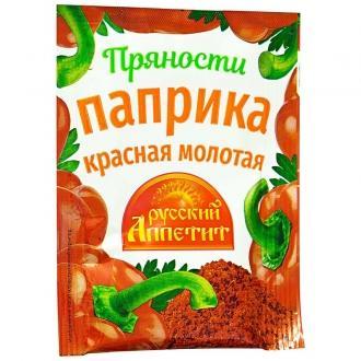 """Паприка """"Русский Аппетит"""" 10гр*25"""