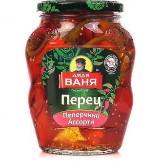 Перец Пеперчино Ассорти Дядя Ваня 680г*8