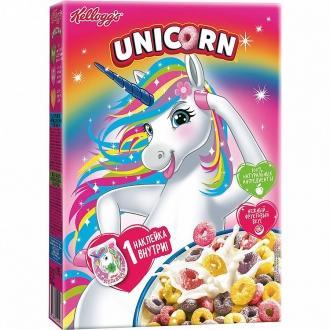 Завтраки сухие  'Kellogg`s ' UNICORN 195г*10 Радужные колечки с фруктовым вкусом