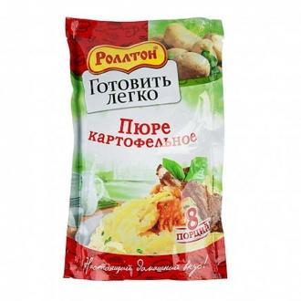 Пюре картоф.-8 порций  'Роллтон '120г*10