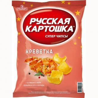 Русская картошка 150 г*9 Креветки