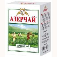 Азерчай 100г*30 Зеленый чай