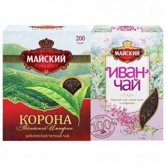 Майский чай  200 г*5 Корона Российской И...