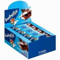 Батончики BABYFOX  шоколад молочный с мол. начинкой 47гр*20*(4бл.)