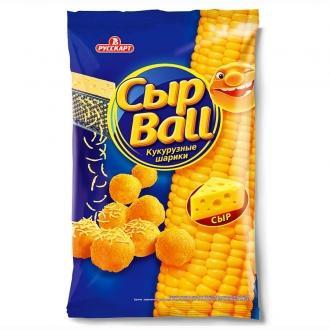 Сыр Ball Снеки Кукурузные 140г*12