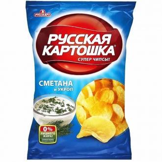 Русская картошка 150 г*9 Сметана/укроп