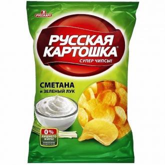 Русская картошка 150 г*9 Сметана/лук