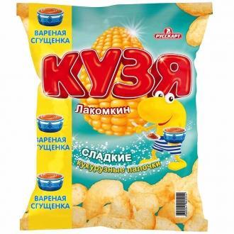 Кузя  Лакомкин 65г*16- палочки сладкие с...