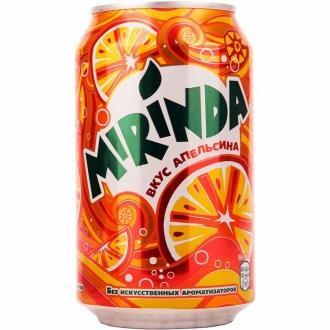 Миринда  Апельсин 0,33л *12 ж/б