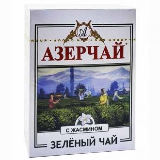 Азерчай 100г*60 Зеленый чай с жасмином