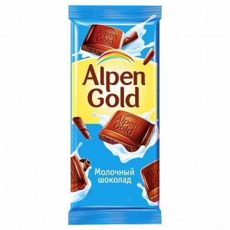 Альпен Гольд  85гх22шт Молочный