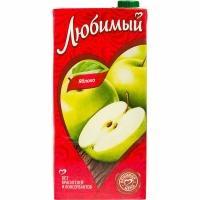 Сок 'Любимый '1,93л*6 Яблоко осв.(нектар)