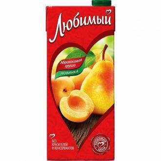 """Сок""""Любимый""""0,95л*12 Яблоко/Аб..."""