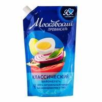 Майонез  'Московский провансаль ' МЖК 390г*20 дозатор