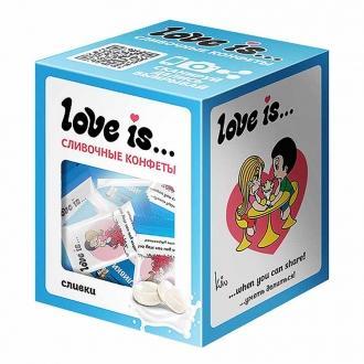 Лав из  'Love is ' жев. конфета со вкусо...