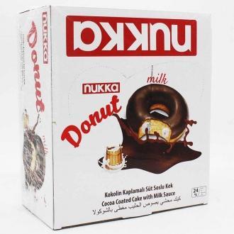 Пончики NUKKA DONUT 40гр*24*(6бл) Молочн...