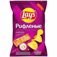 Лейс  150 г*10 чипсы Лосось