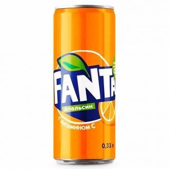 Фанта апельсин 0,33л*12 ж/б