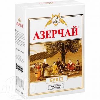 Азерчай 200г*20 Букет черный байховый (коробка)