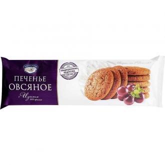 Печенье Овсяное 'Полёт 'с изюмом 250г*16