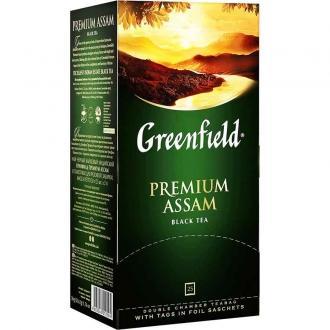 Гринфилд чай 25пак*1,5г*(10) Премиум Ассам