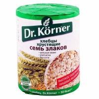 Хлебцы  'Dr. Korner ' 7 злаков 100гр*20